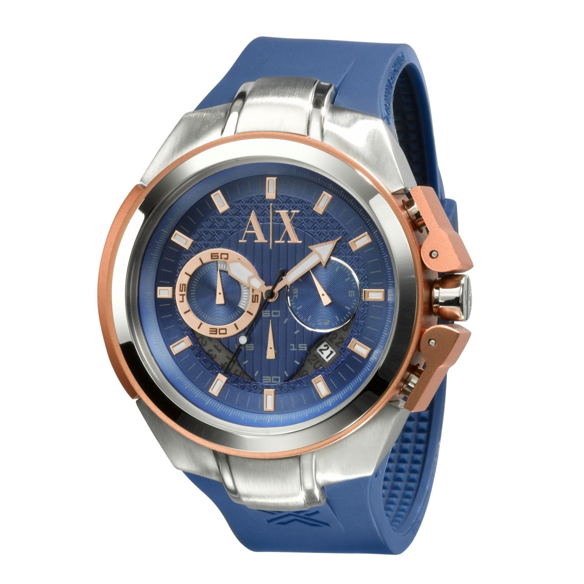 065d832b7e50 Lyst - Armani Exchange Ax Armani Exchange Watch Mens Chronograph ...