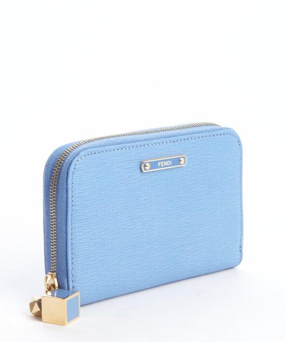 Fendi Wallet Blue