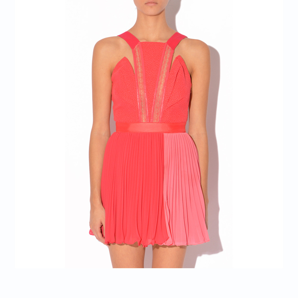 Lyst three floor pretty woman dress in pink for Three floor yellow dress