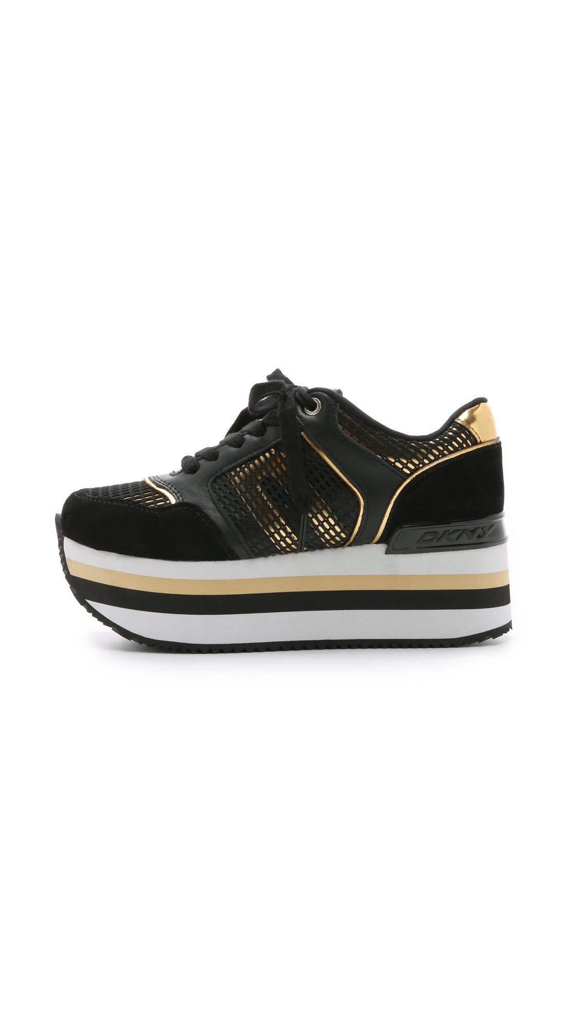 Dkny Black Shoes