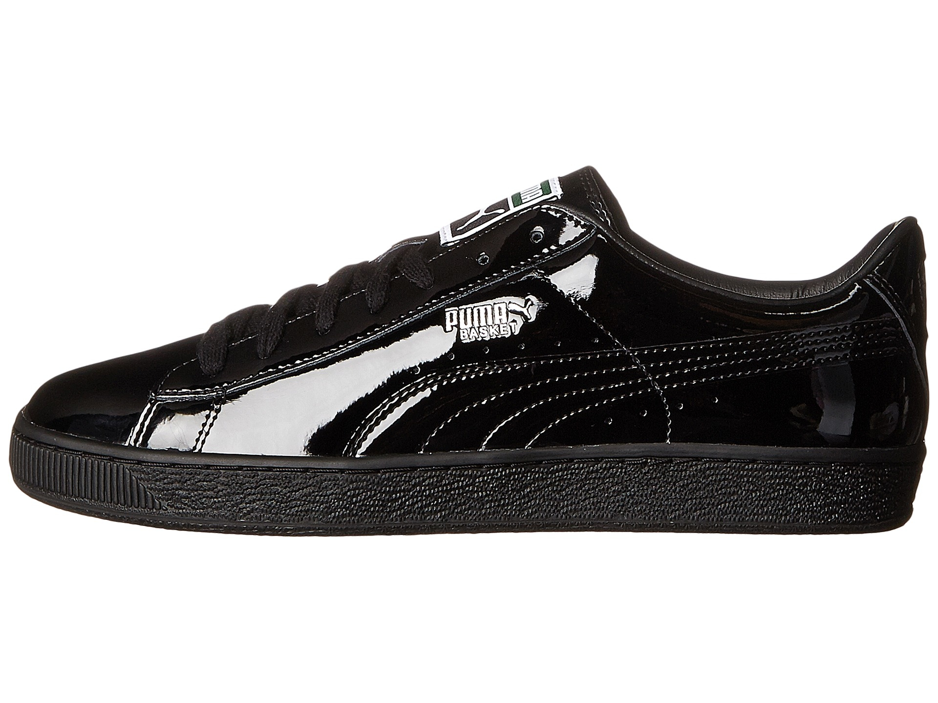 puma basket matte and shine