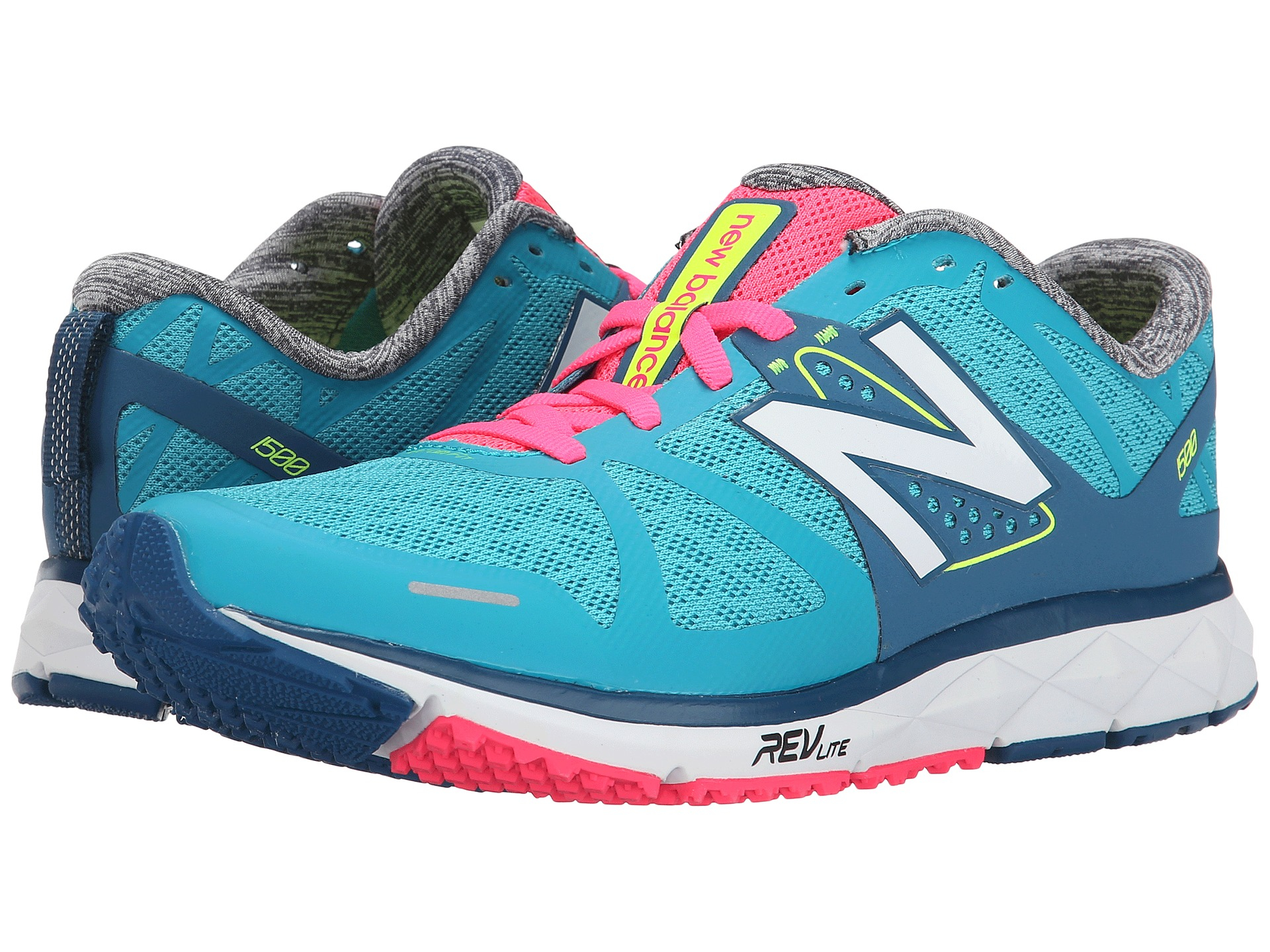 Womens Shoes New Balance W1500v1 Blue/Pink