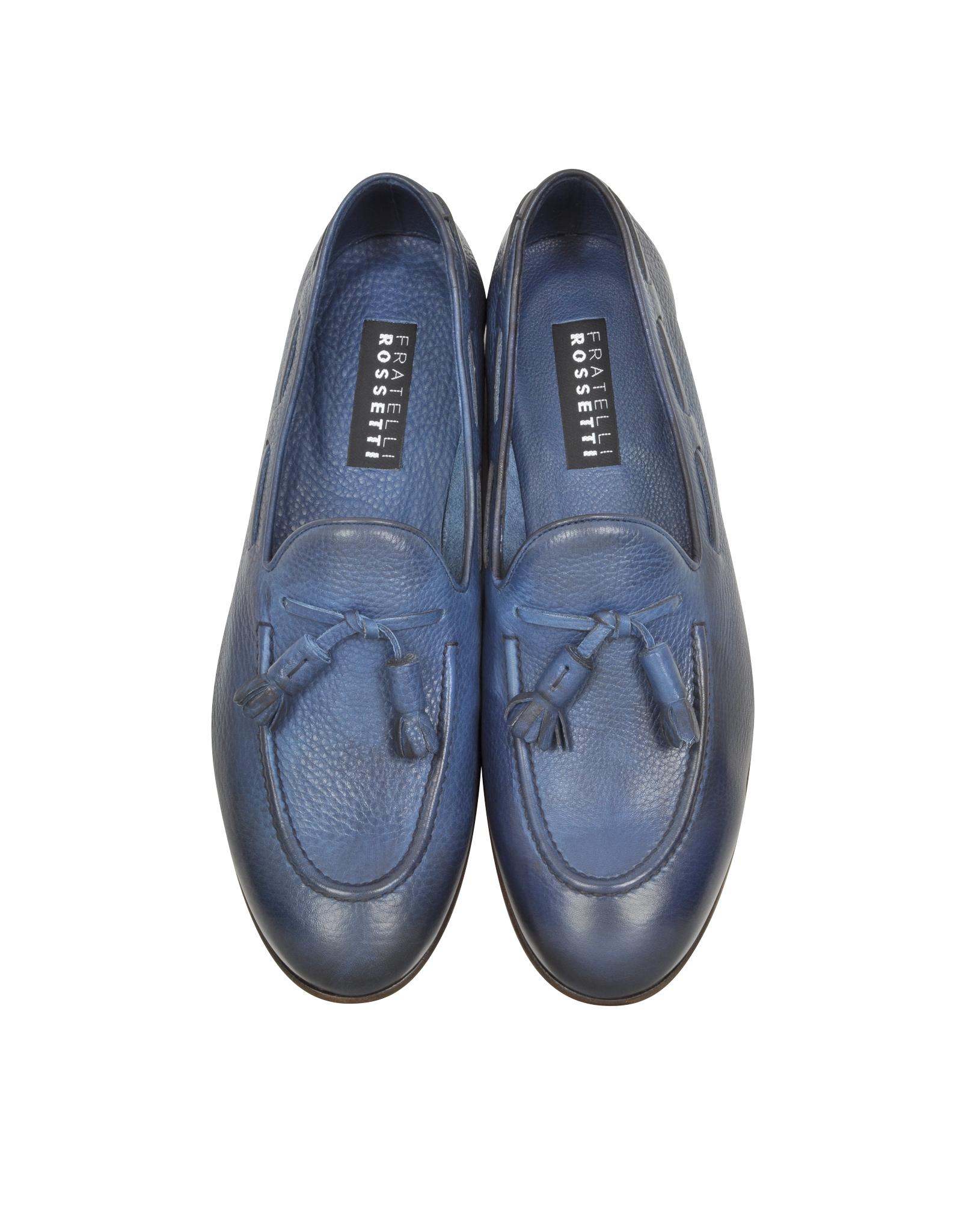 tassel boat shoes - Blue Fratelli Rossetti HOhCb1cHwx