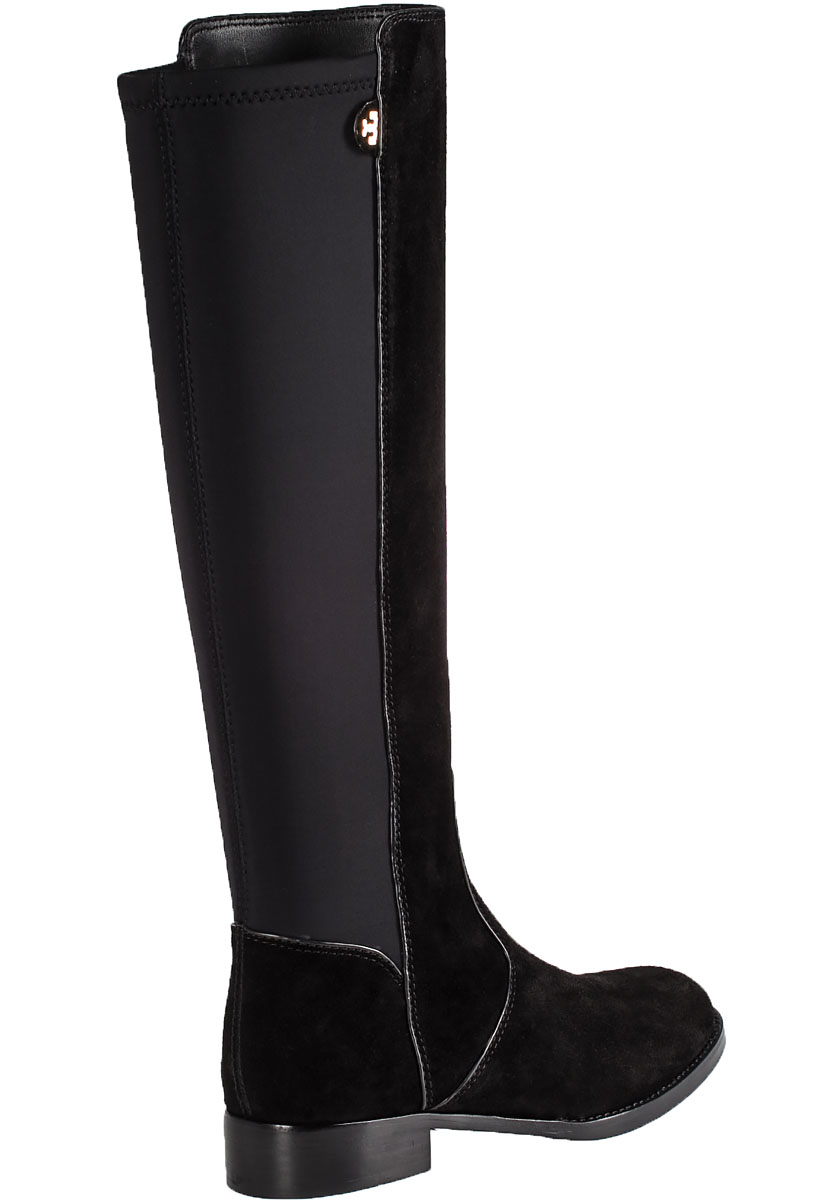Tory Burch Seldon Suede Riding Boots in