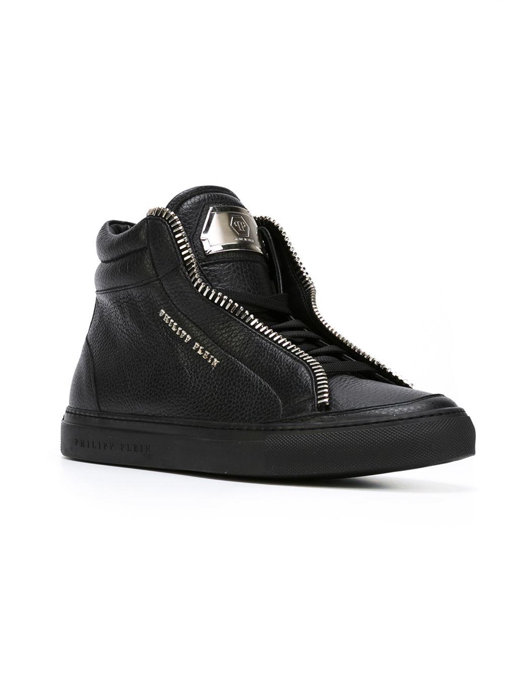 Lyst Philipp Plein Volta Hi Top Sneakers In Black For Men