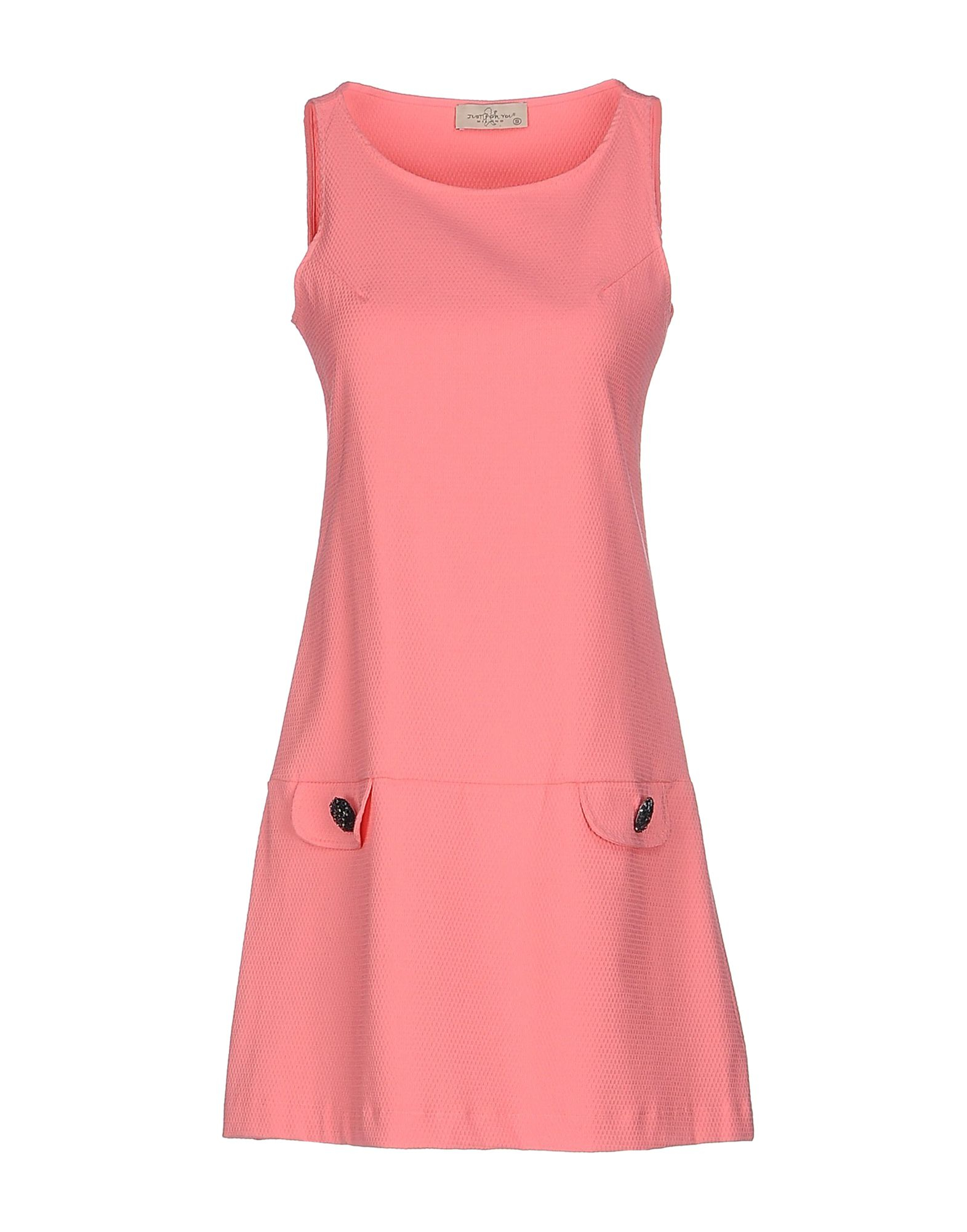 Just For You Short Dress In Pink Pastel Pink Save 53