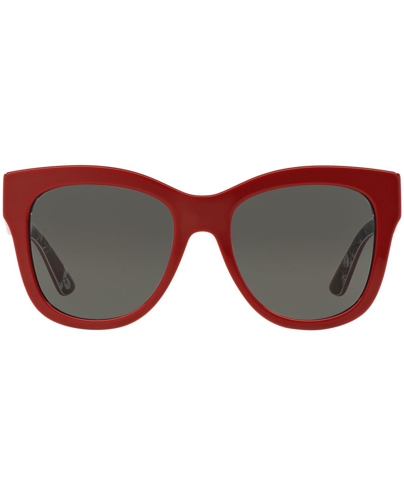 Gabbana Dolceamp; 55 And Dg4270 Red cALq34R5j