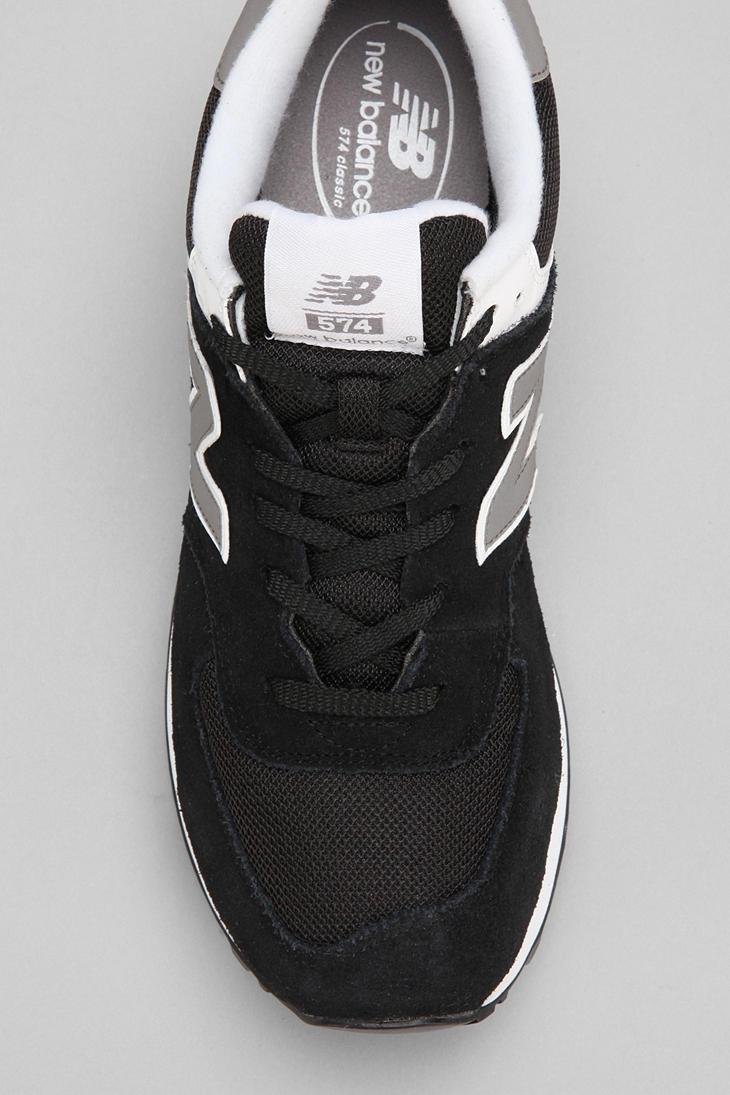 premium selection 97f15 2ecf9 New Balance Black 574 Core Running Sneaker for men