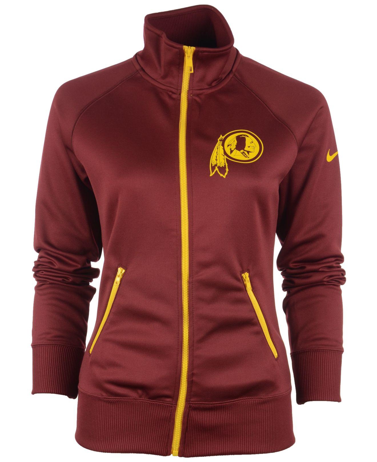 78b14a58 Nike Women's Washington Redskins Mvp Track Jacket for men