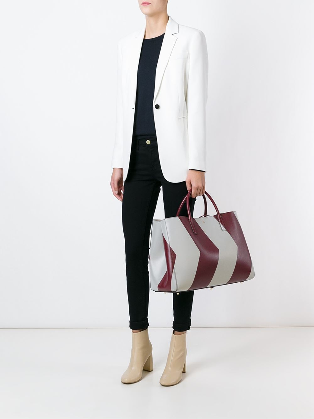 Anya Hindmarch 'ebury Maxi Featherweight' Tote in Red
