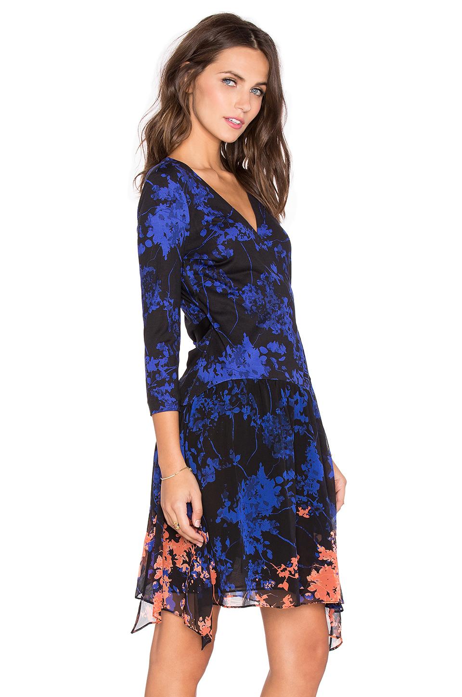 Lyst Diane Von Furstenberg Riviera Chiffon Skirt Dress