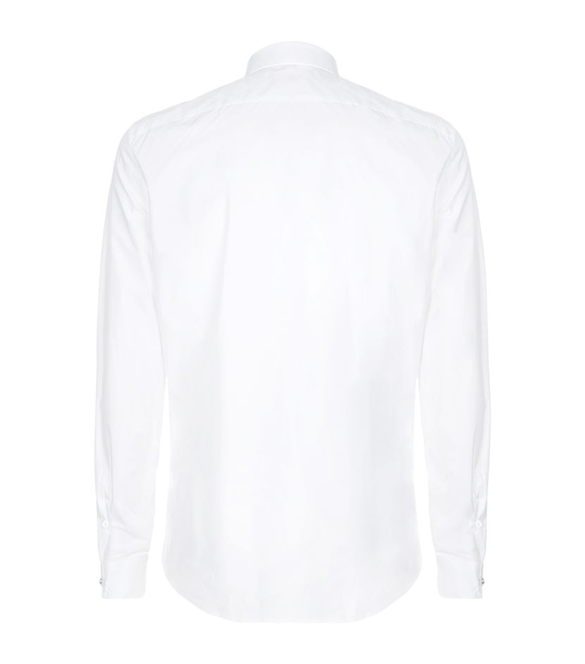 Versus Lion Pin Collar Shirt in White for Men