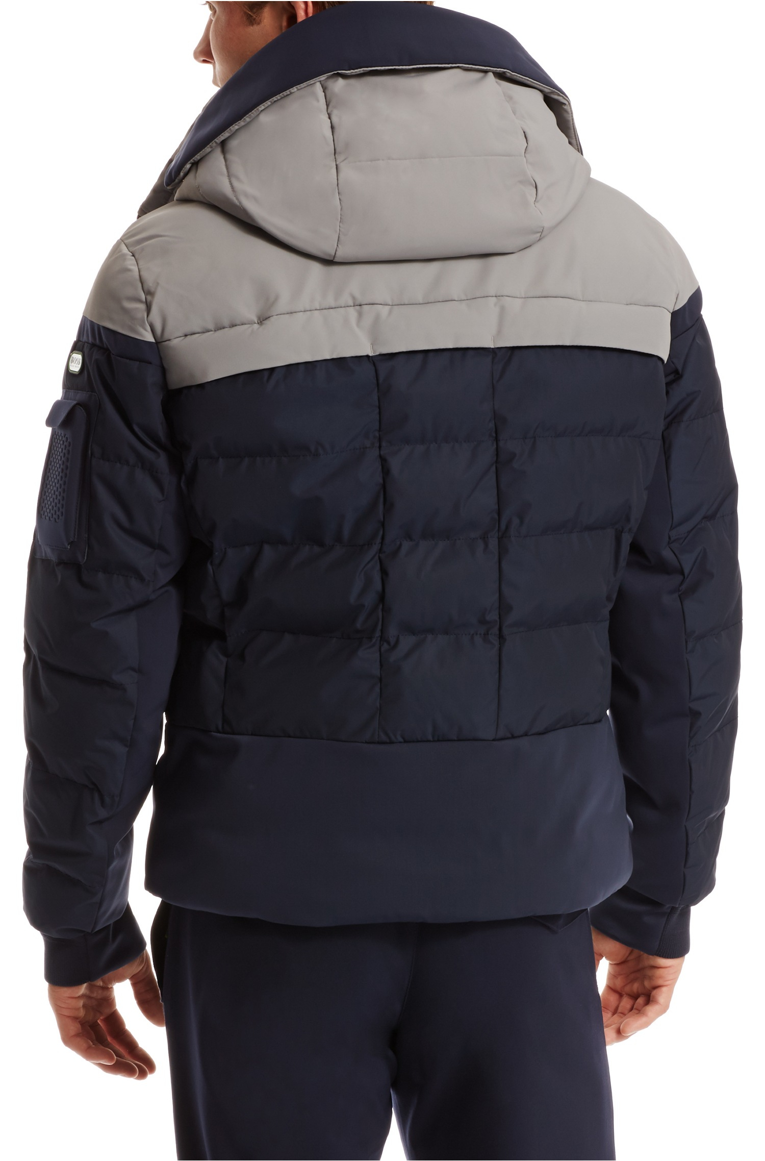 Boss Green Jawad Water Repellent Quilted Jacket With