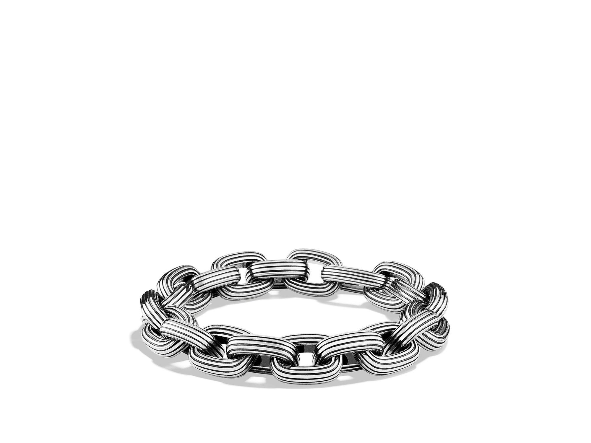 Lyst David Yurman Royal Cord Large Link Bracelet In