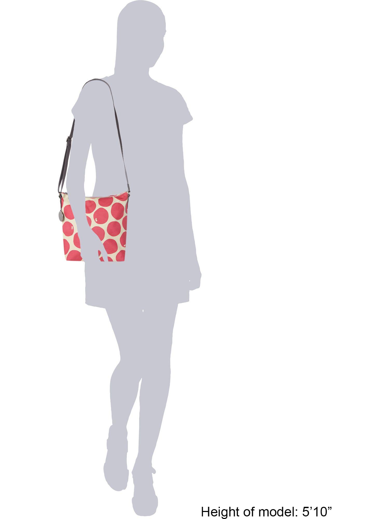 Radley Spot On Pink Bucket Cross Body Baag