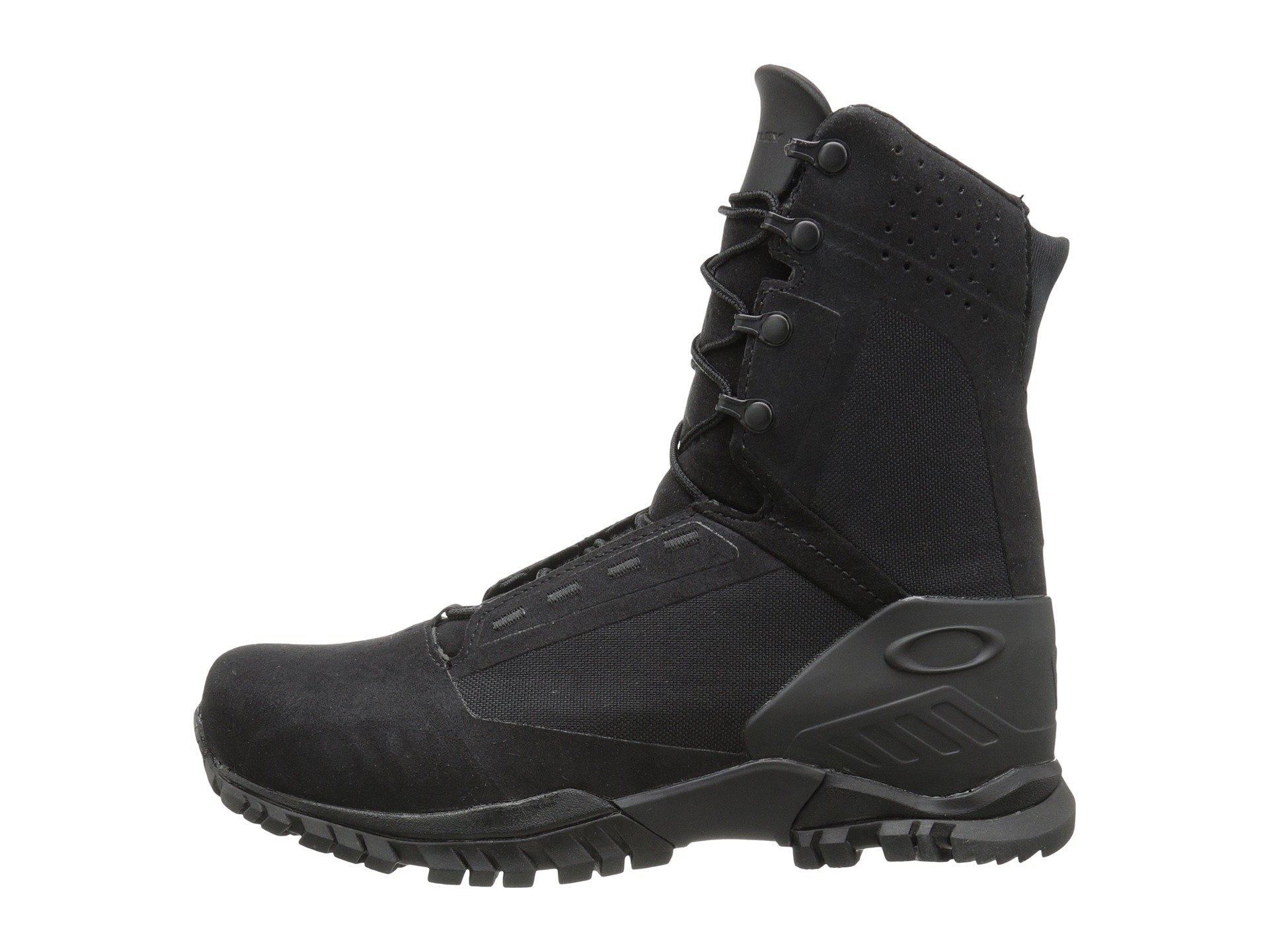 8cb9accaaaf Oakley Black Si-8 Lightweight Military Boot 8 Inch