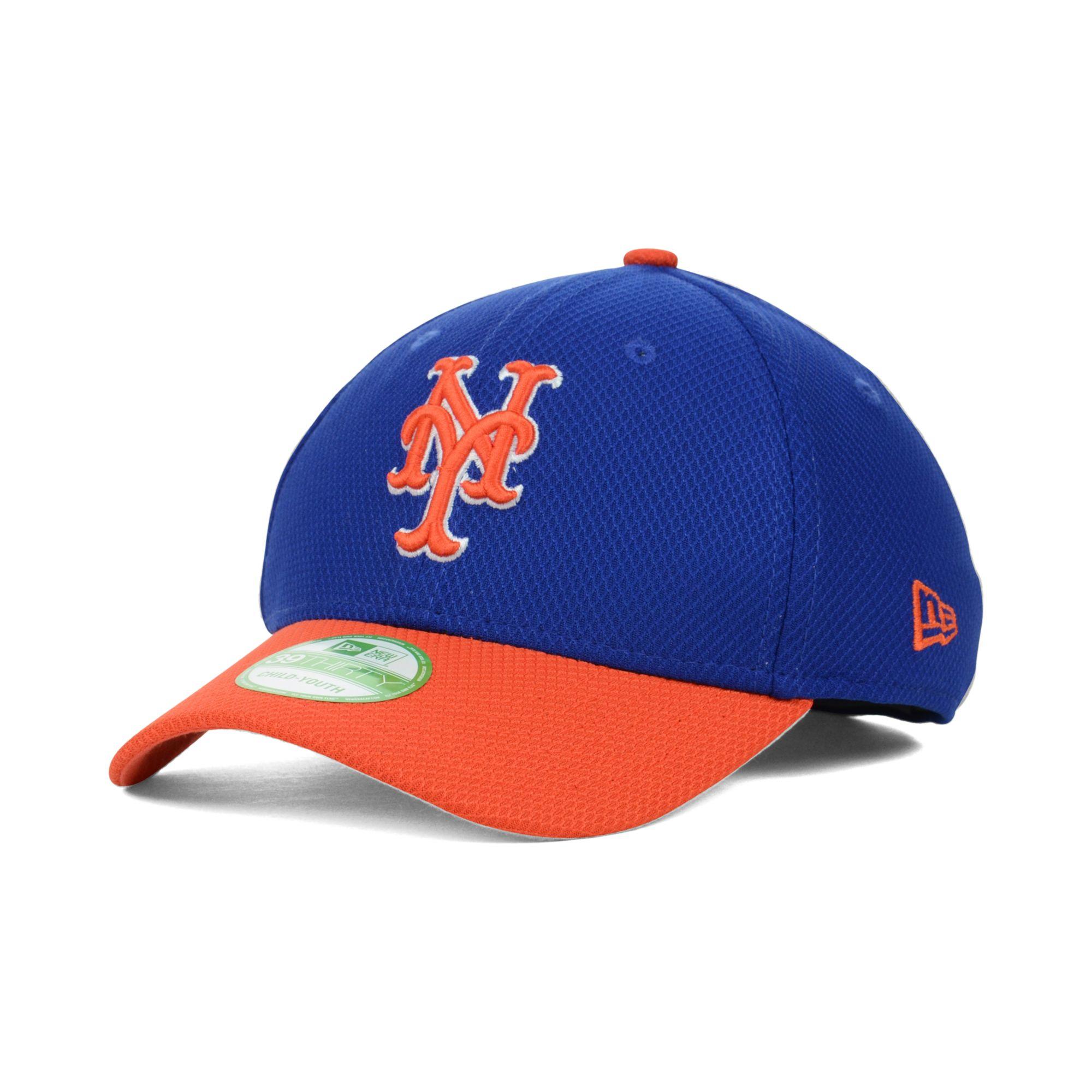 buy popular 18173 67baf ... best price lyst ktz kids new york mets diamond era 39thirty cap in blue  for men
