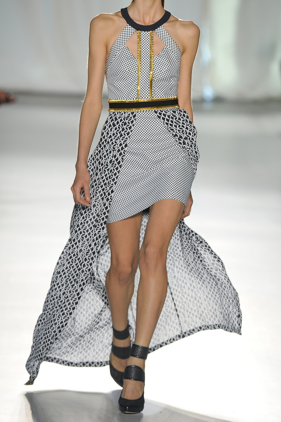 Sass and bide embellished maxi dress