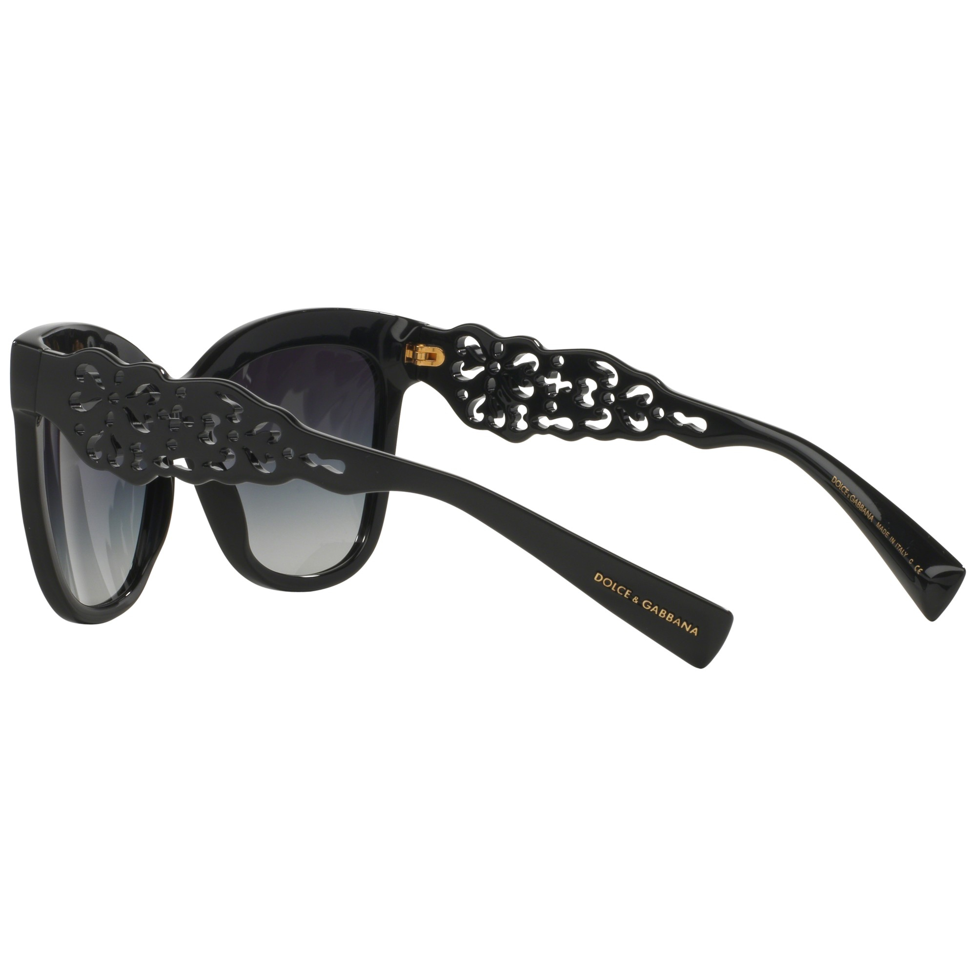 d3315c6b044 Dolce And Gabbana Black Square Sunglasses