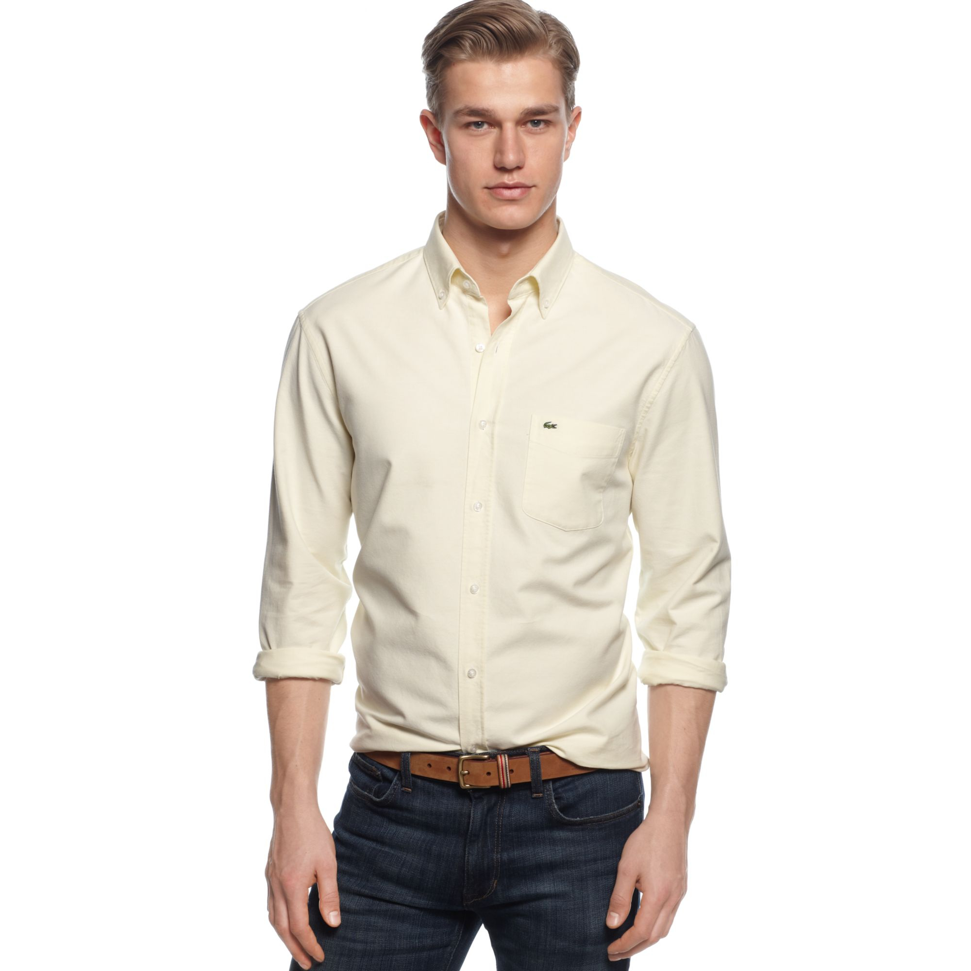 Men s oxford button down shirts artee shirt for Oxford long sleeve button down shirt
