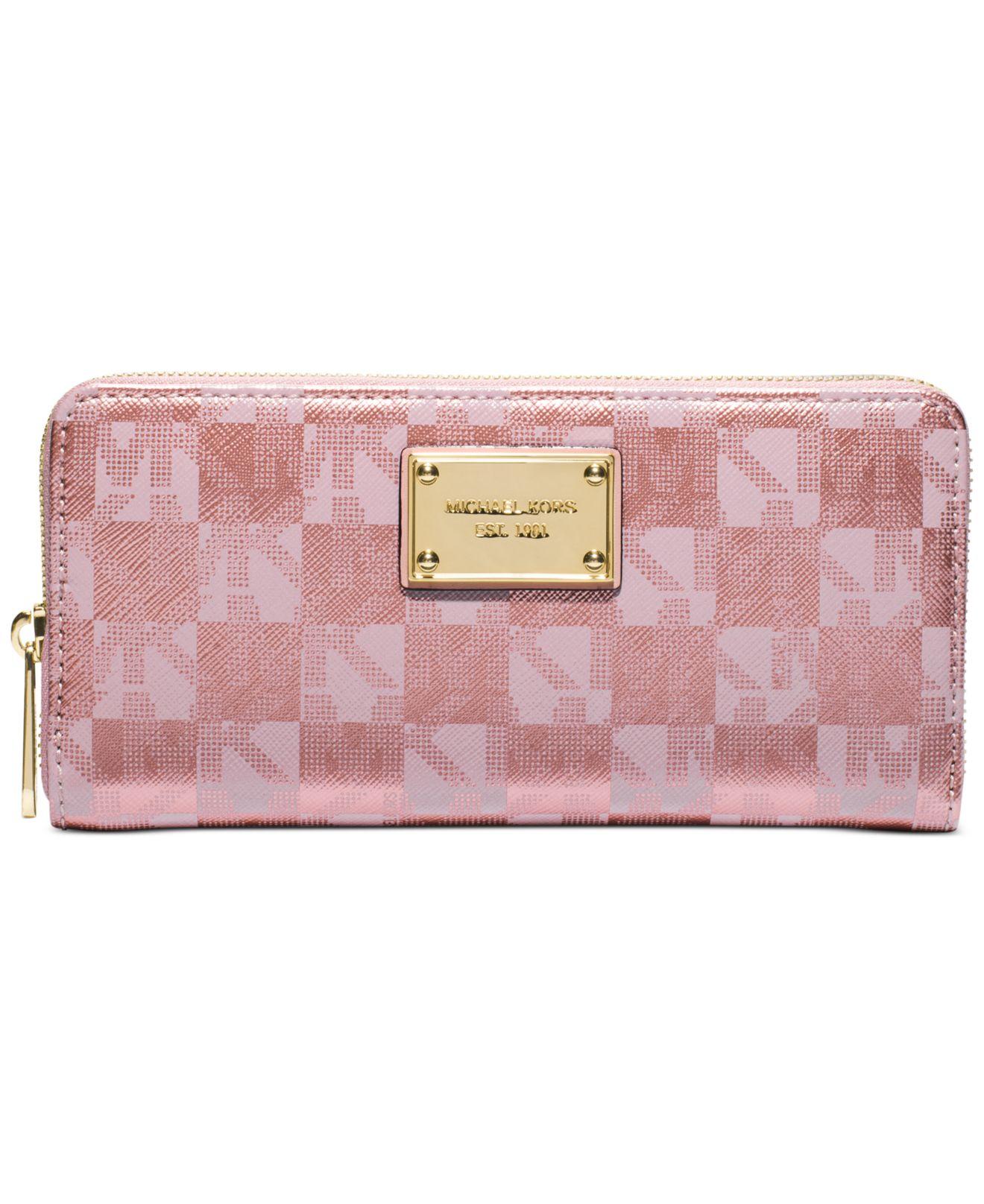 b103abf8eaa2 michael kors handbags wallets rose gold large hamilton traveler tote ...