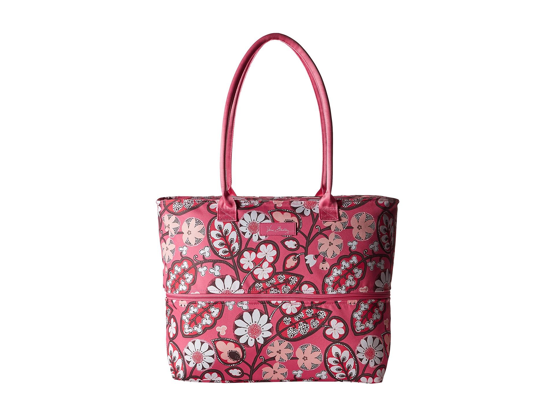 Vera bradley Lighten Up Expandable Travel Tote in Pink (Blush Pink ...