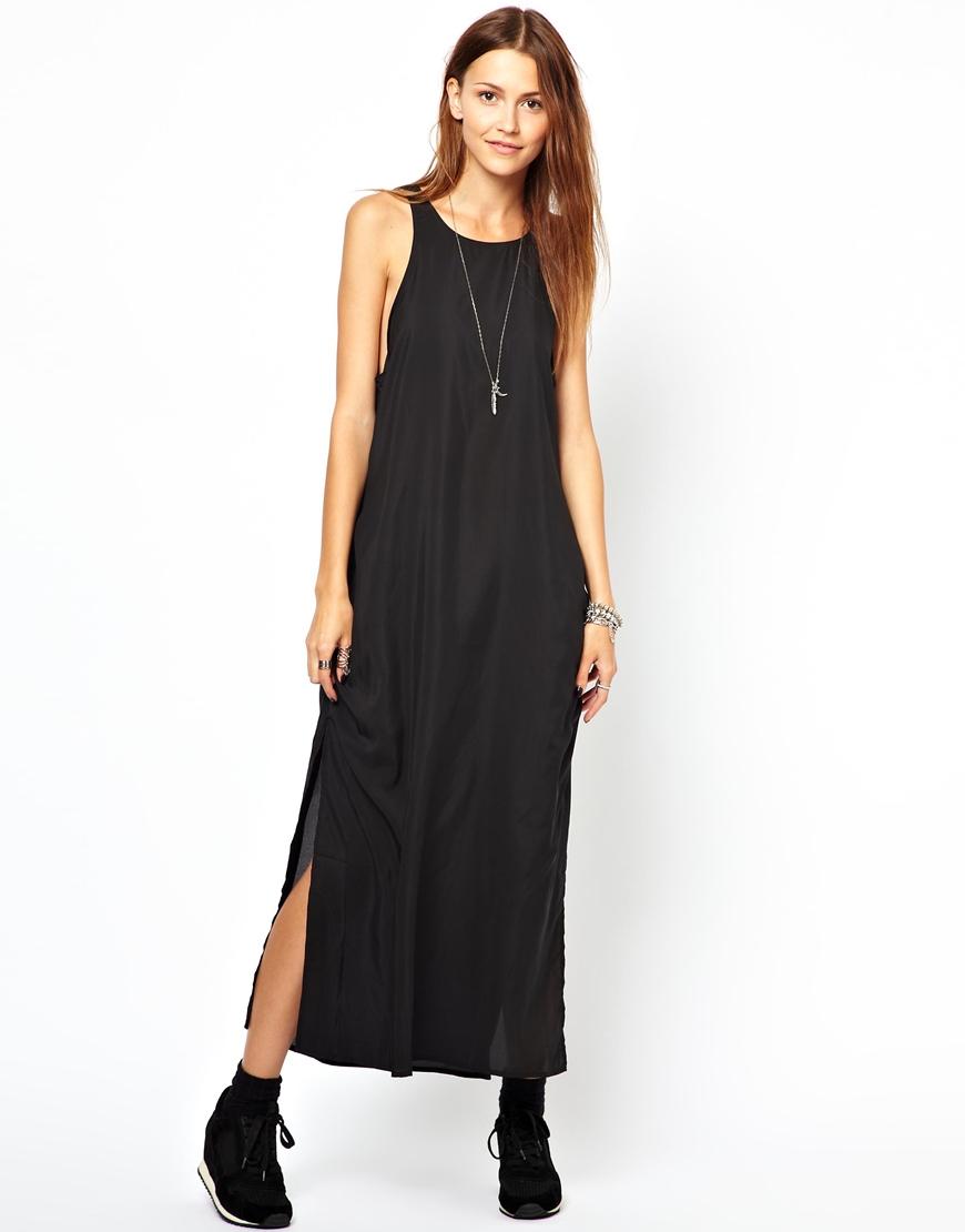 Cheap Monday Maxi Dress In Black Lyst