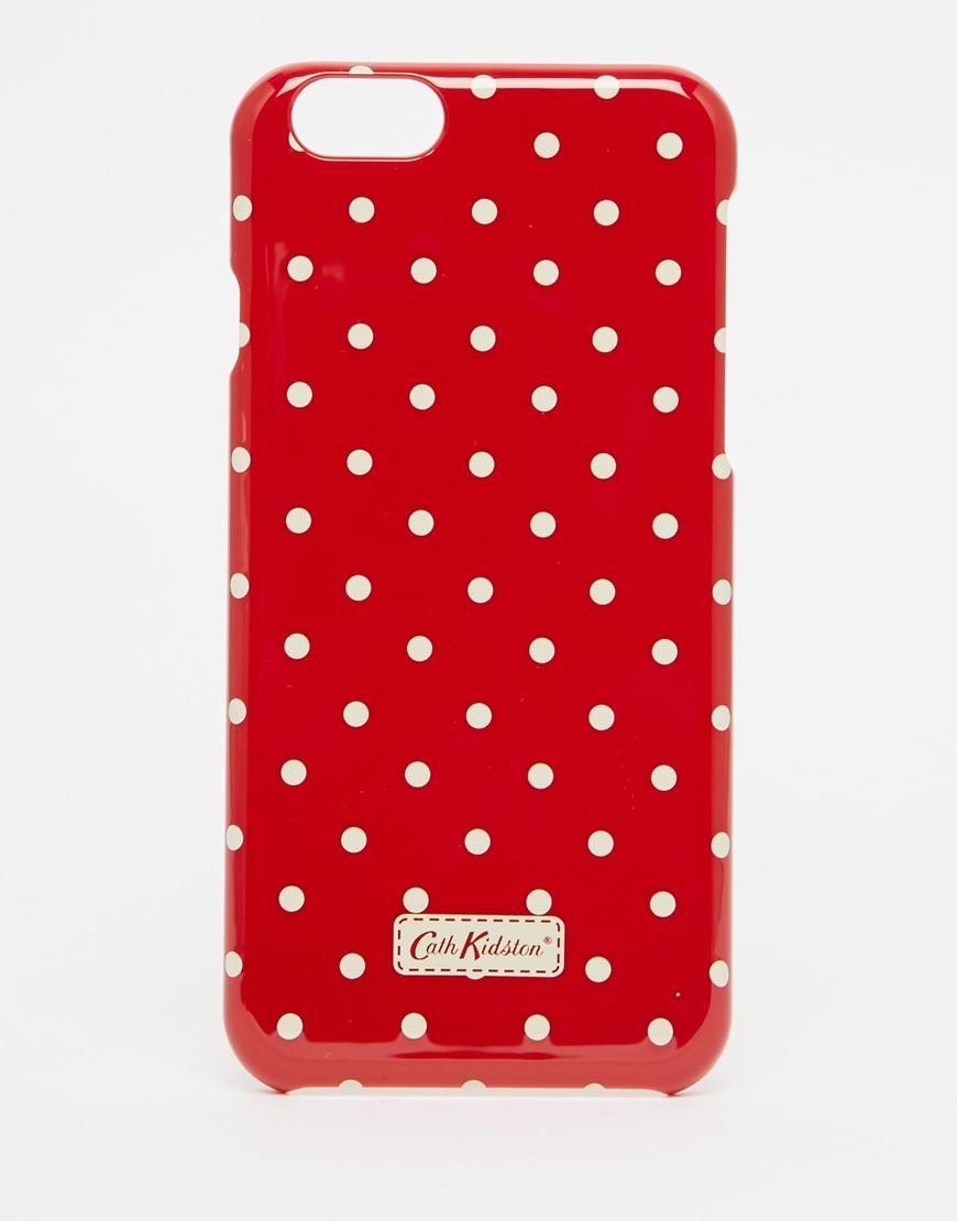 Lyst - Cath Kidston Mini Dot Iphone 6 s Case in Purple 3b6b5066e5