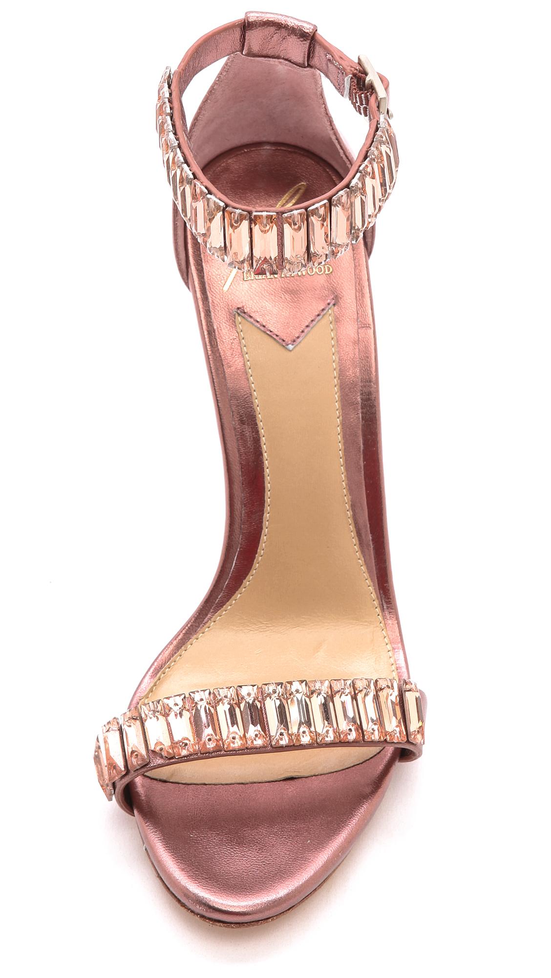 27bc5414f9c B Brian Atwood Ciara Jeweled Sandals Light Pink