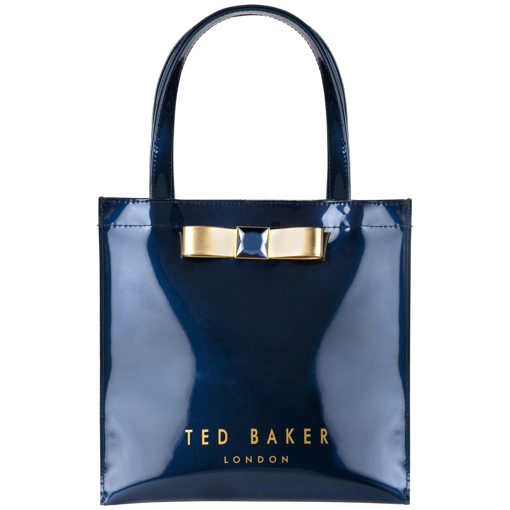 11a340f8c Ted Baker Precon Bow Small Iconic Bag in Blue - Lyst