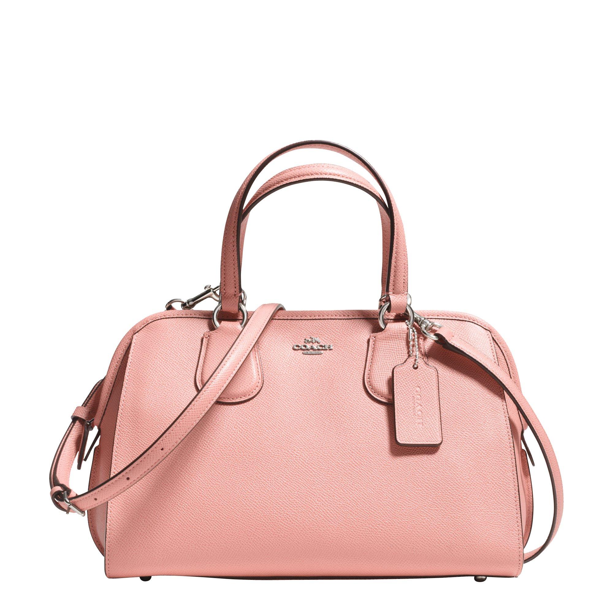 70a56a3f33 Lyst - COACH Nolita Satchel in Pink