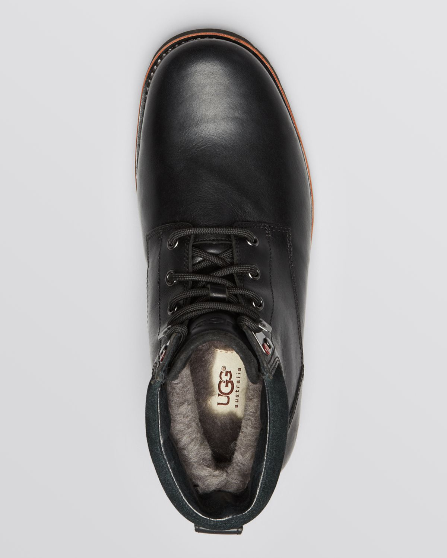 7d5306bb9ae UGG Black Australia Waterproof Seton Short Boots for men