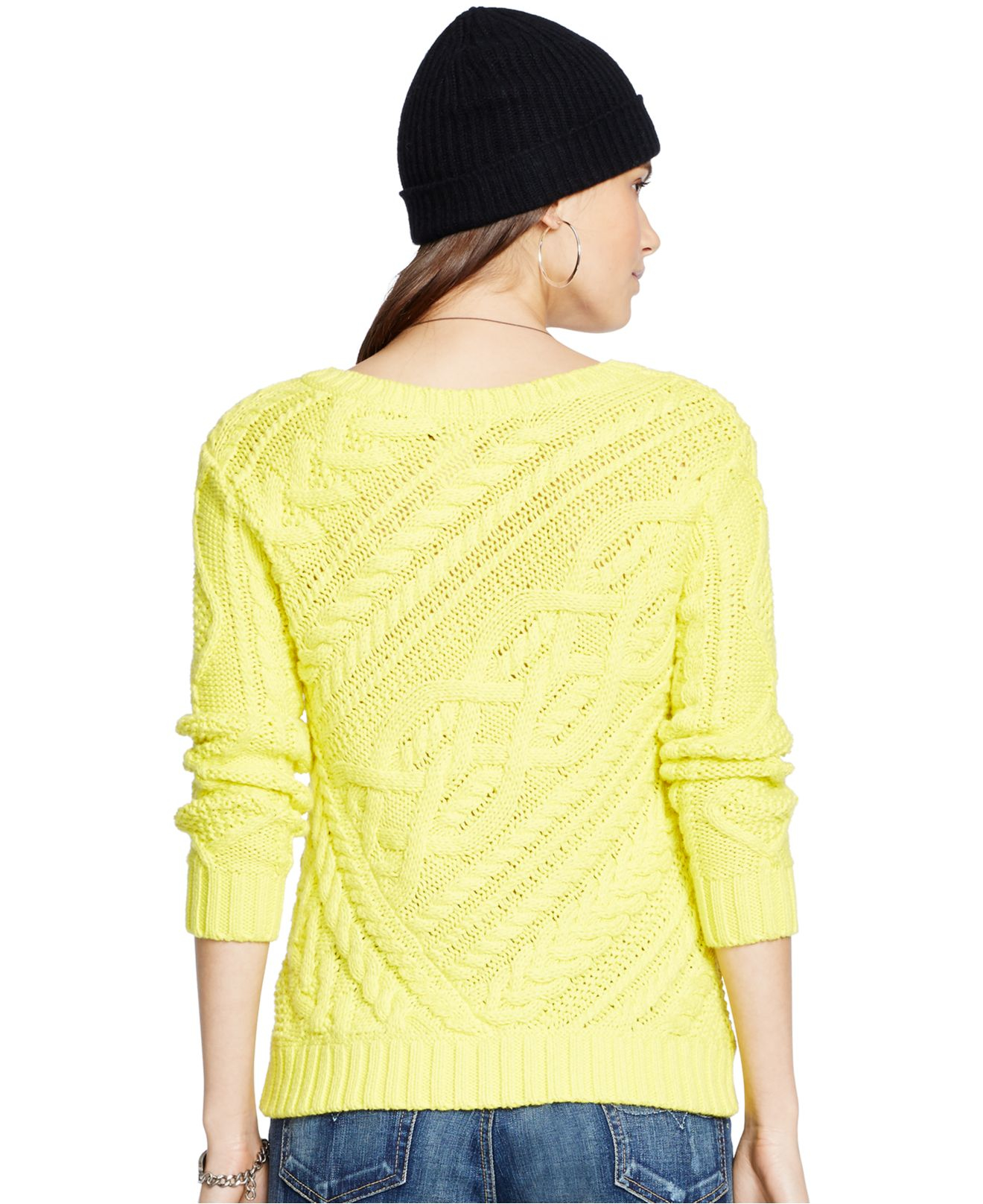 666b29a6cd Previously sold at Macys · Womens Cable Knit Sweaters  authentic 26544  82715 Polo Ralph Lauren ...
