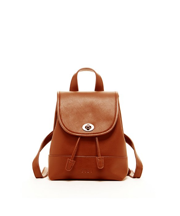 Susu 'nicole' Small Leather Backpack Dark Red in Brown | Lyst