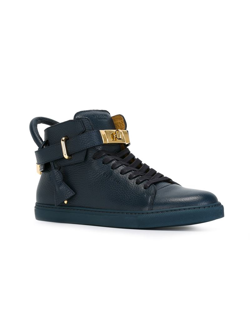 Buscemi Leather '100mm' Sneakers in