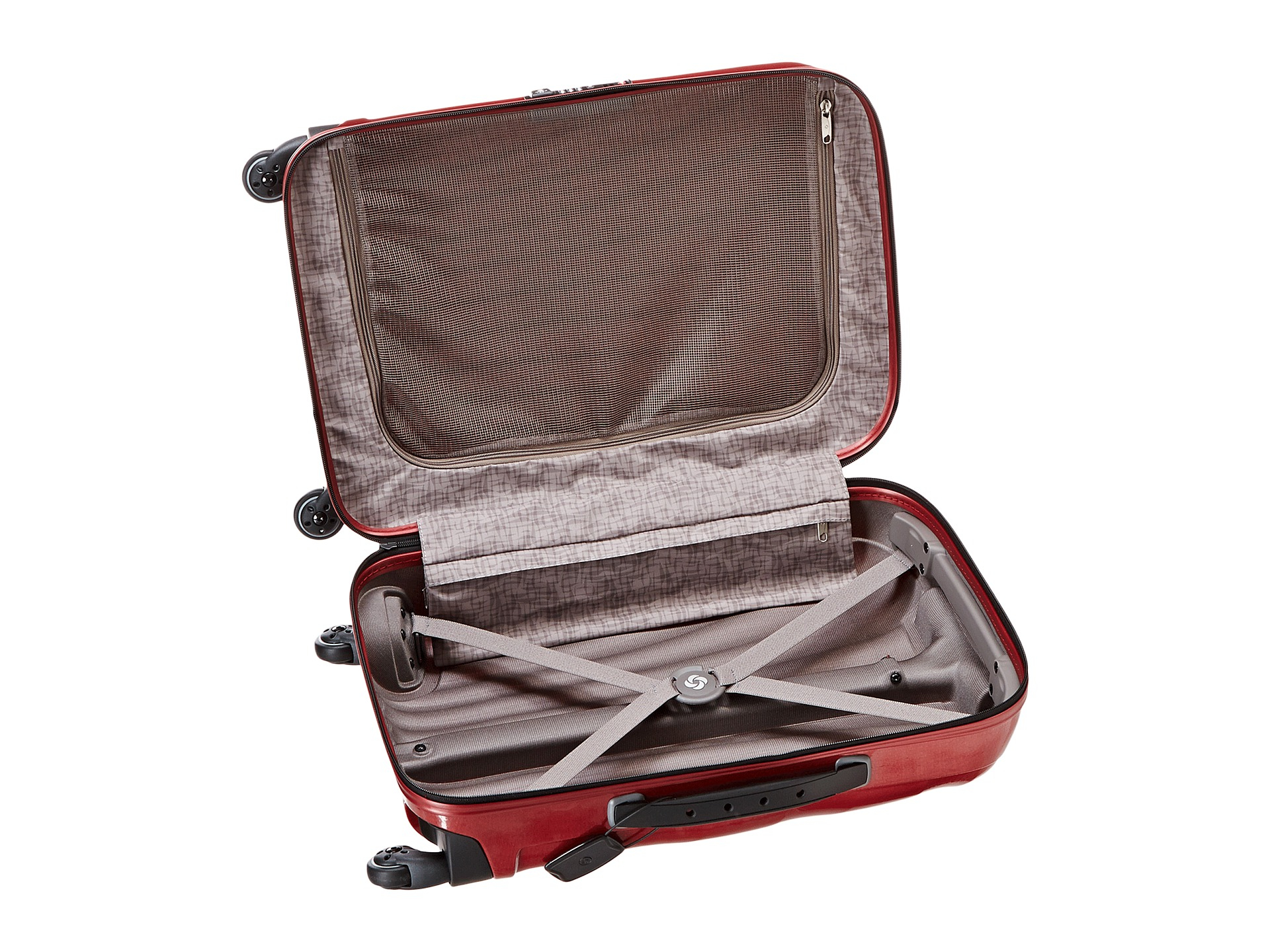 It's just an image of Persnickety Samsonite Black Label Vintage Spinner