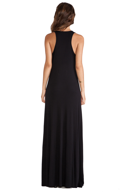 Splendid black tank maxi dress