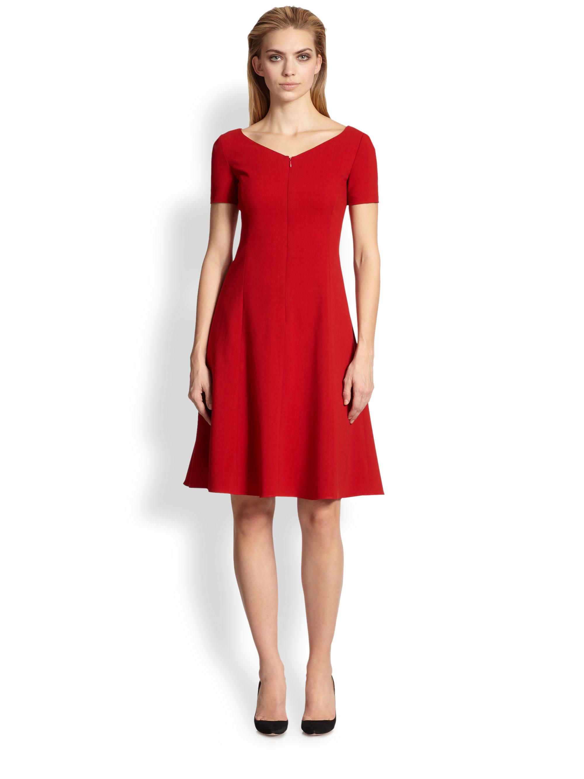 Armani Red Dress Cocktail Dresses 2016