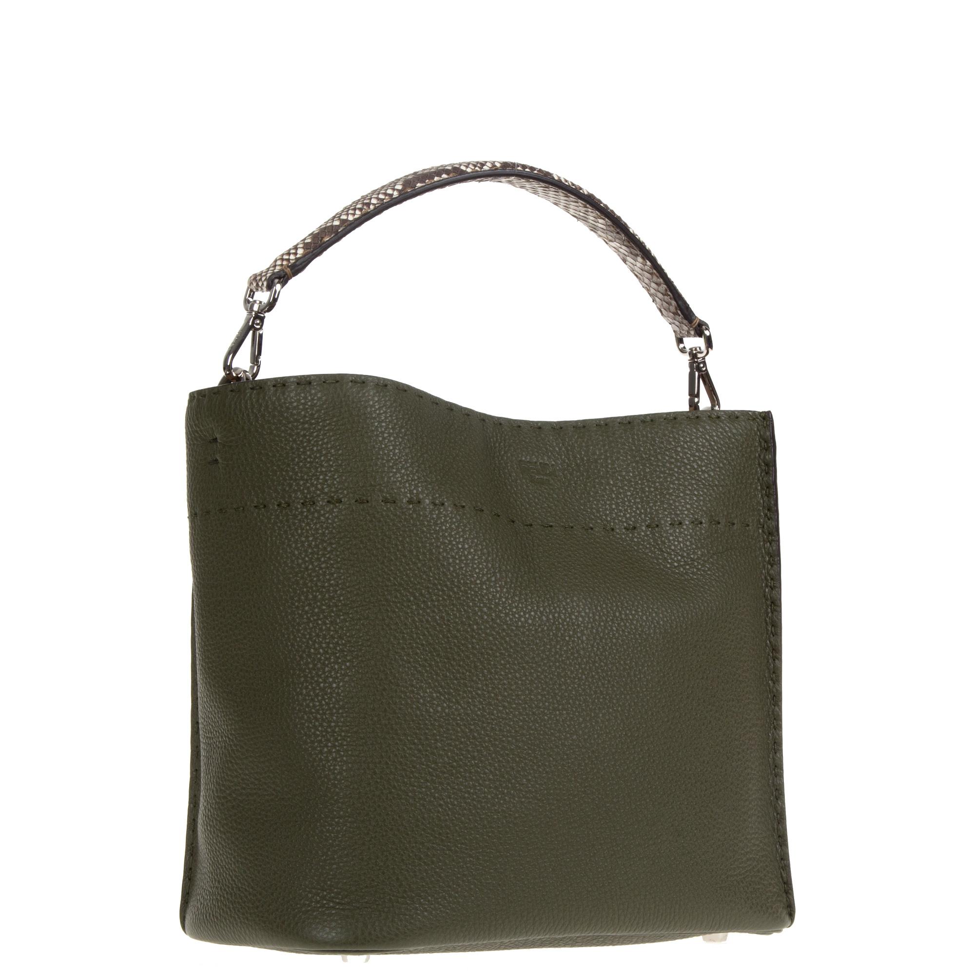 caf857c18e6d Fendi Green Bag. Lyst - Fendi Anna Small ...