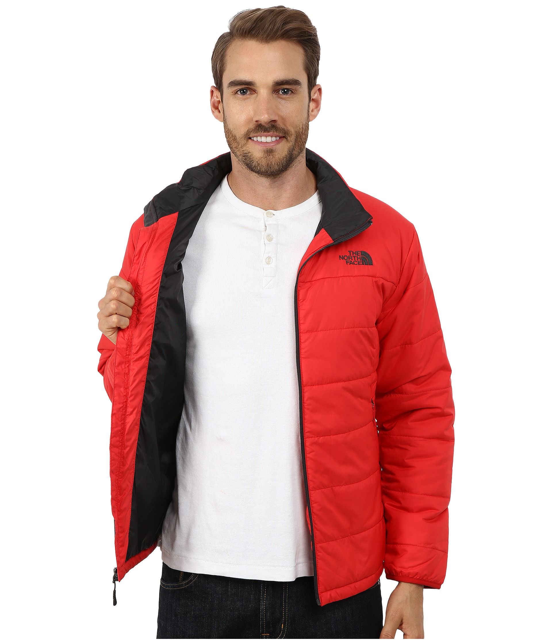 The North Face Synthetic Bombay Jacket In Red For Men Lyst