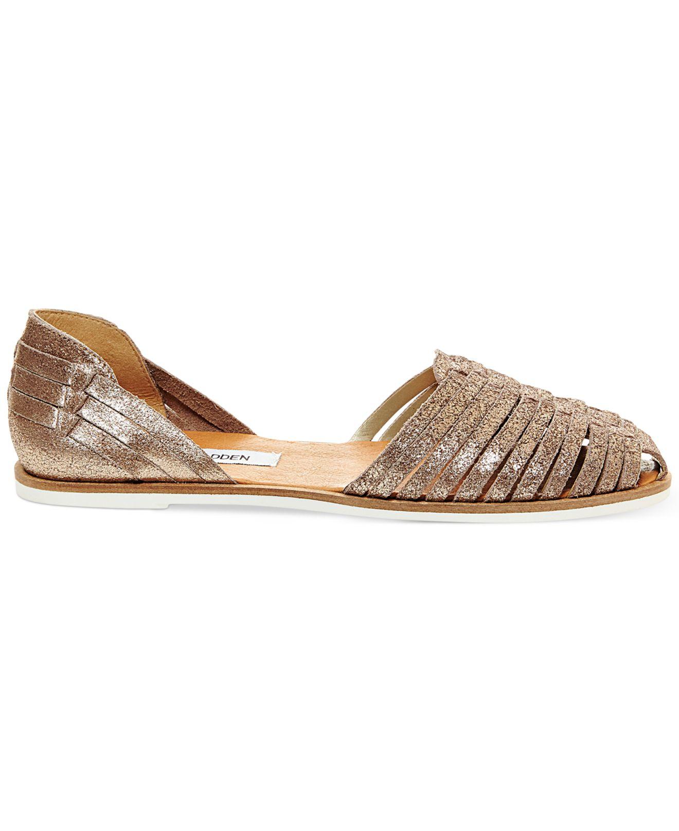85d54a9f915 Steve Madden Metallic Women's Hillarie Huarache Slip-on Sandals