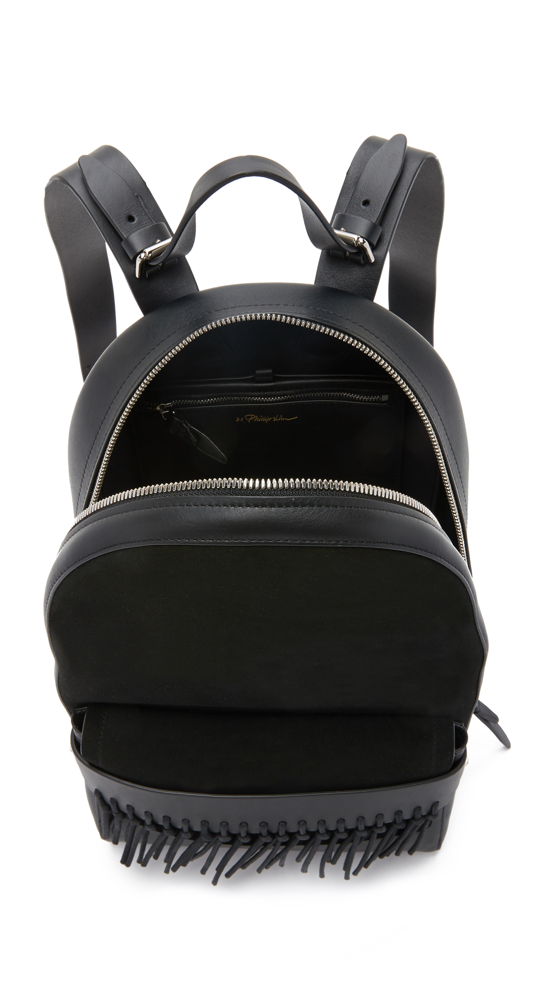3.1 Phillip Lim Bianca Mini Backpack With Fringe in Black