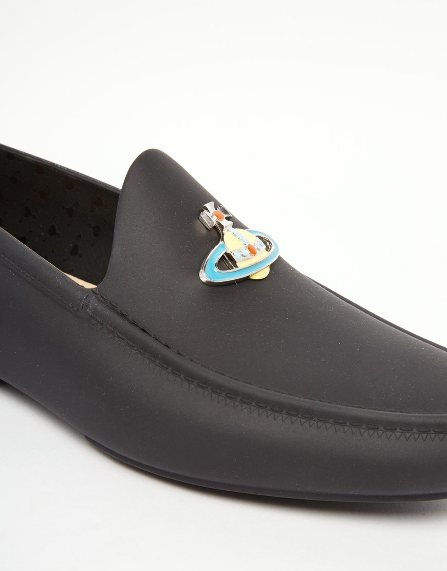 Lyst Vivienne Westwood Orb Loafers In Black For Men