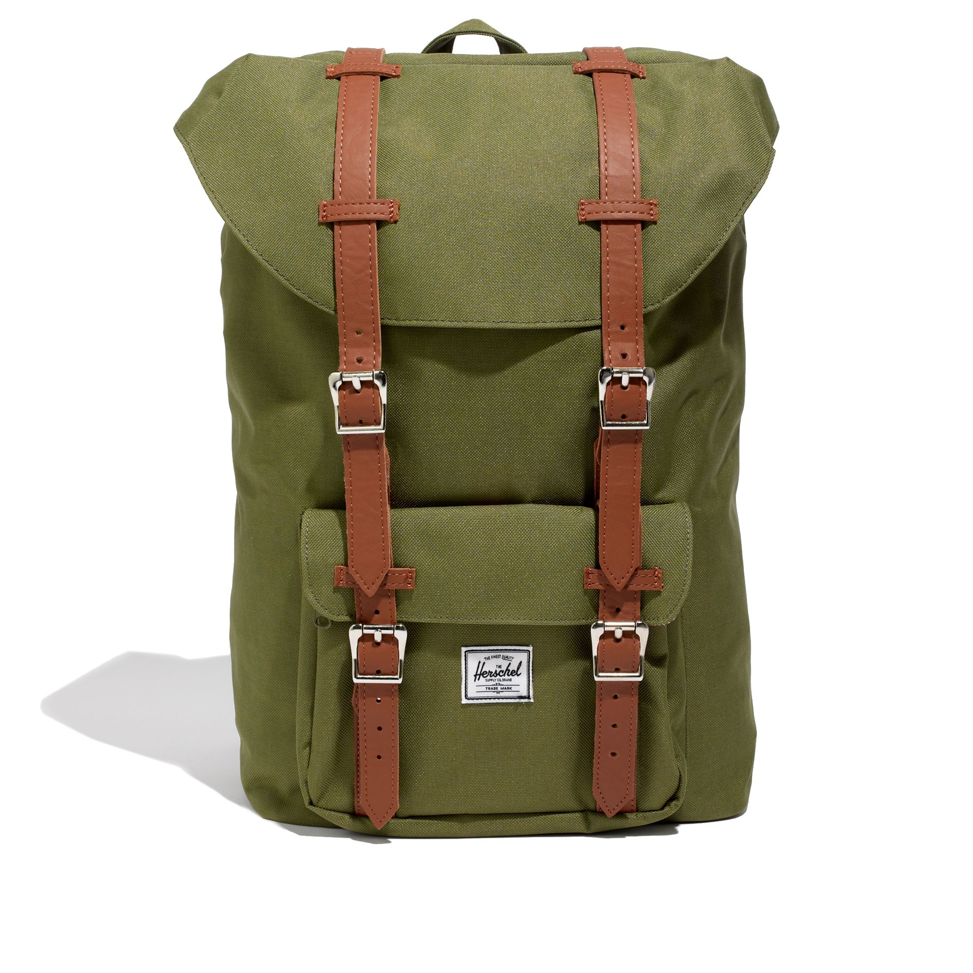 Madewell Herschel Supply Coreg Little America Backpack in Army (Green)