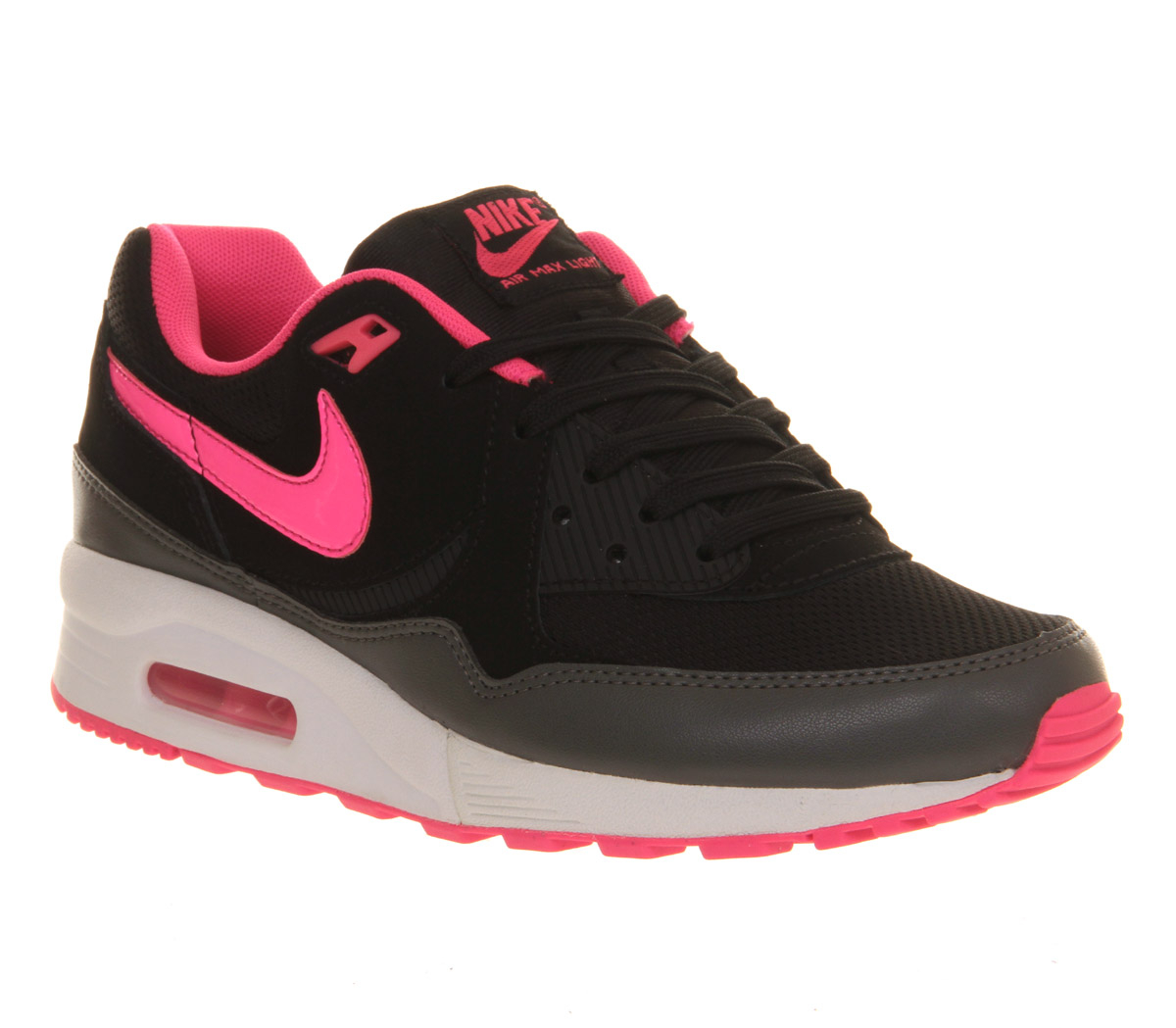 nike air max light essential in pink black lyst. Black Bedroom Furniture Sets. Home Design Ideas
