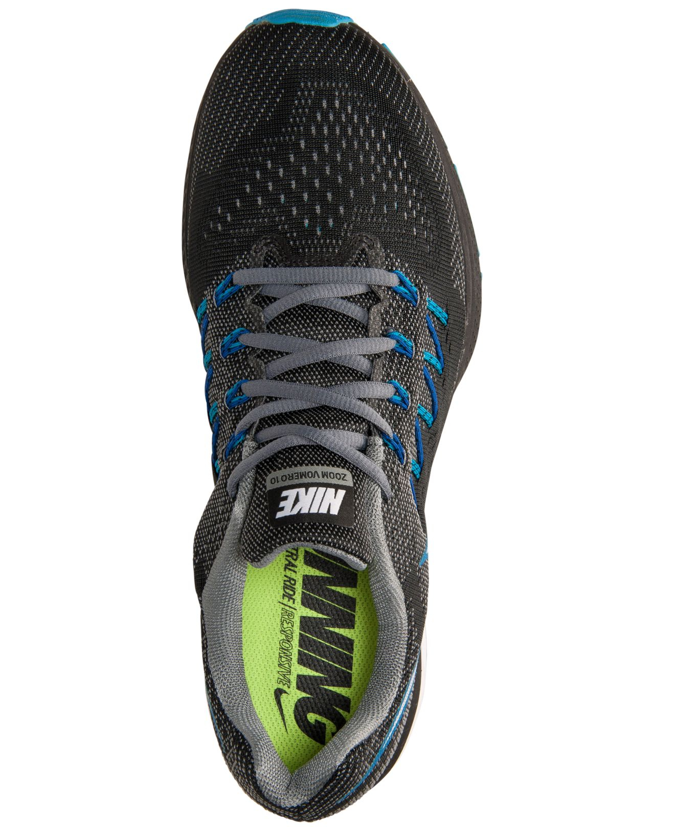 93641d429 ... france lyst nike mens air zoom vomero 10 running sneakers from finish  fe1b3 f4b26