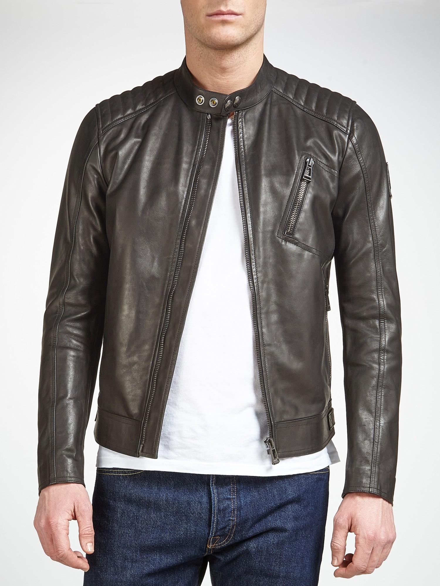 Belstaff Leather Jacket K Racer