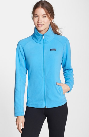 Patagonia 'micro D' Microfleece Jacket in Blue | Lyst