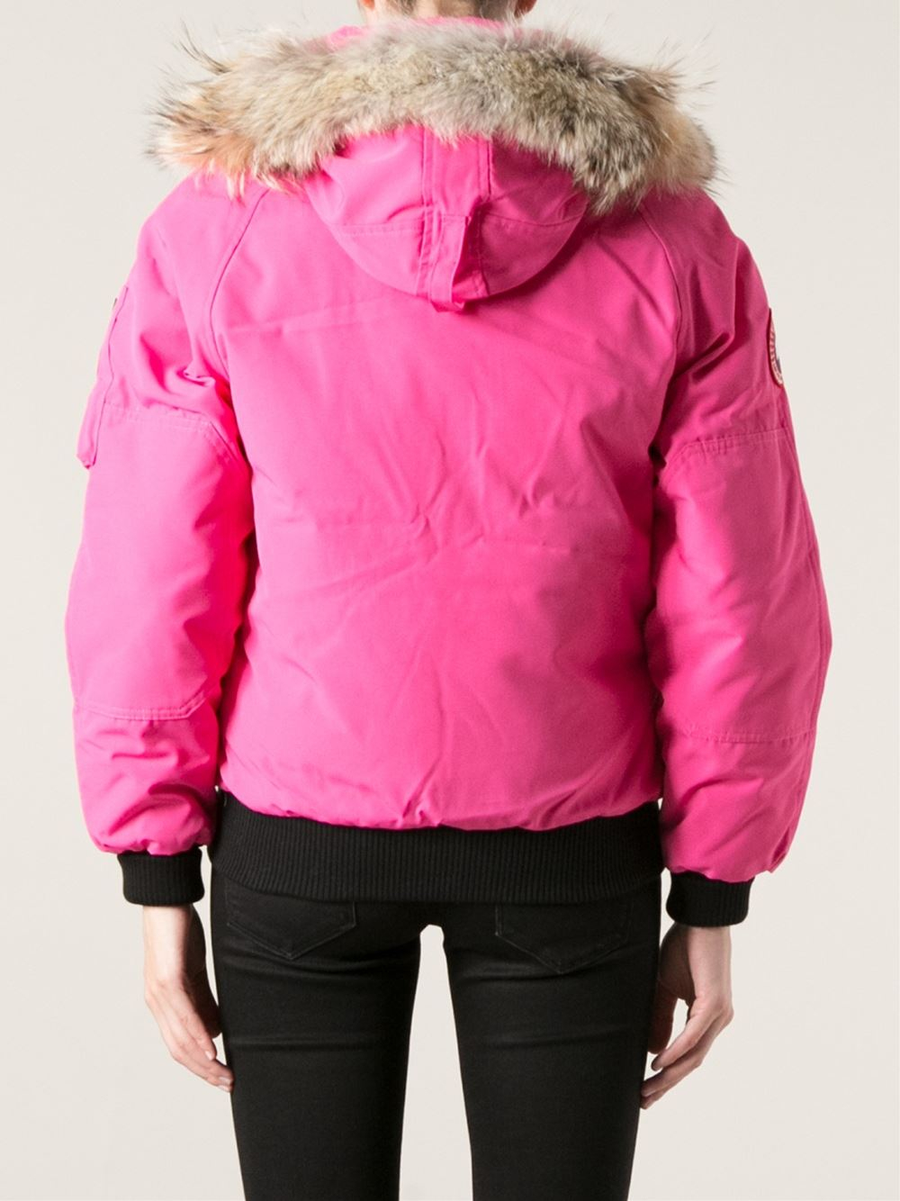 Canada Goose Chillwack Bomber In Pink Lyst