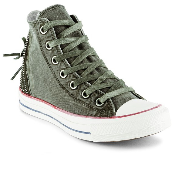 40b8d2144dd Converse Women S Chuck Taylor All Star Canvas Tri-Zip Hi-Top ...